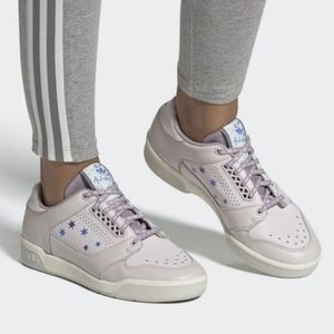 Adidas SlamCourt Shoes Star Design Orchid/White 8